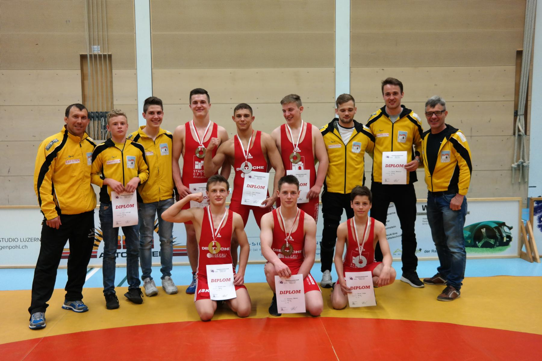 SM Greco Aktive/Kadetten Willisau