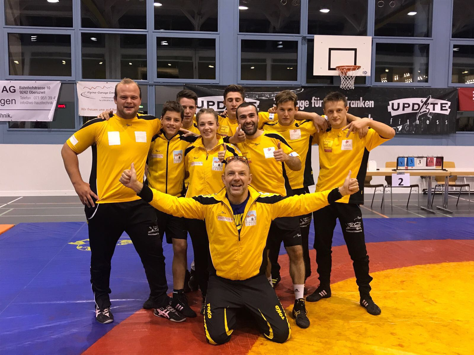Kriessner 1. Liga Team in Front