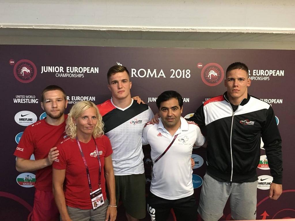 Junioren EM in Rom