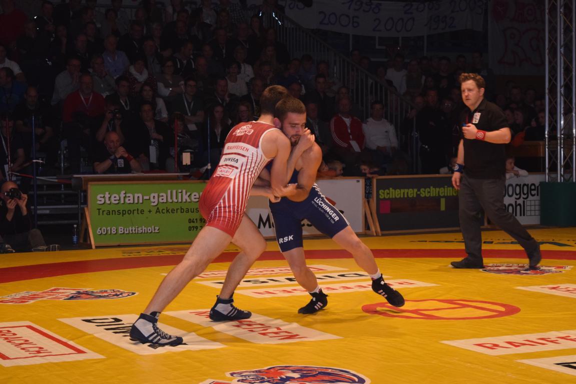 Kriessner im Halbfinal gegen die RS Freaimt