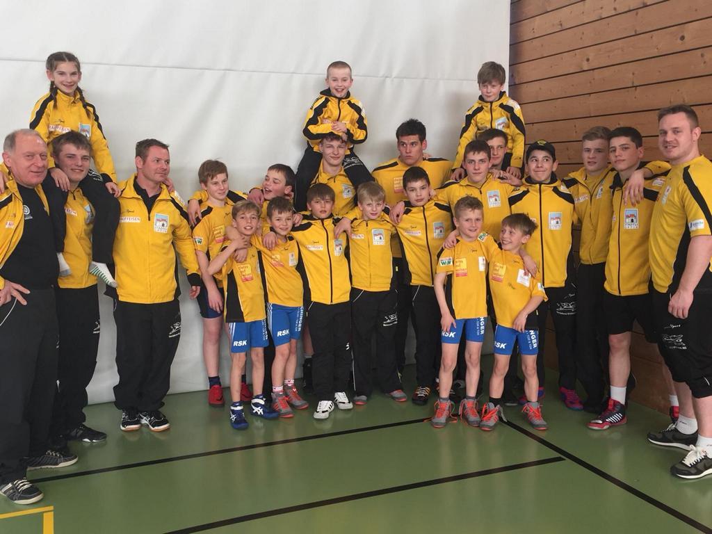 Start ins Wettkampfjahr der Jugendmannschaften