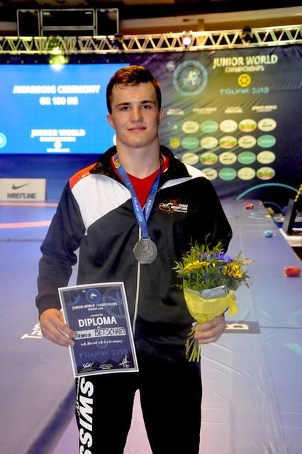 Ramon gewinnt WM Silber !