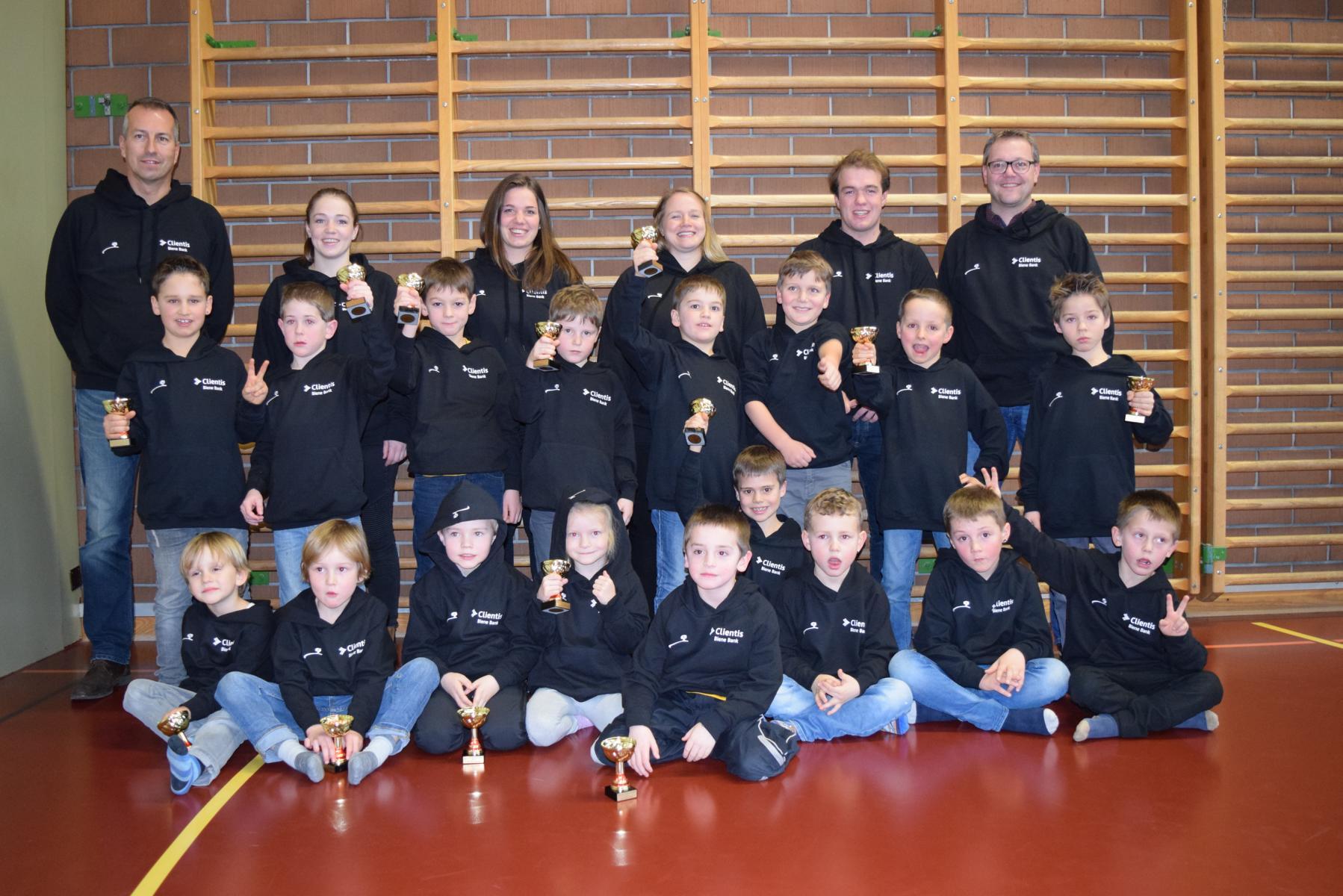 Neue Pullover für Rikidz und Trainer