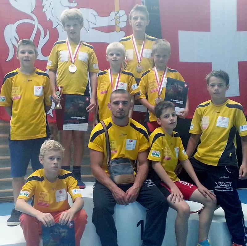 SM Jugend A+B in Martigny (Greco)